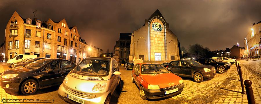 Basilique notre dame de la treille lille hdr creme - Eglise notre dame de la treille lille ...