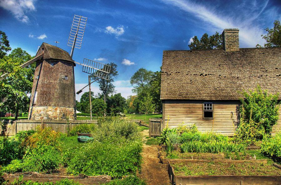Windmill garden greenfield village dearborn mi