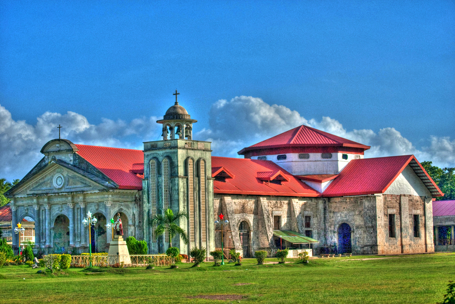 Panglao_church