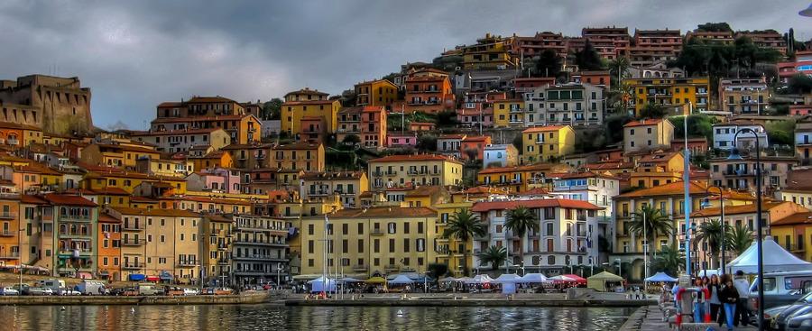 Porto Santo Stefano Italy  City new picture : Porto Santo Stefano, Italy | HDR creme