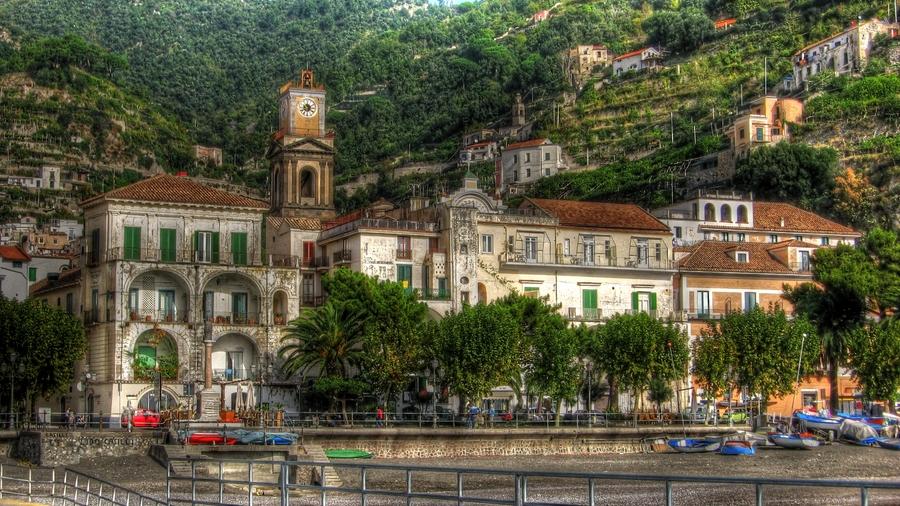 Maiori Italy  city images : Maiori, Italy HDR Photo | HDR Creme