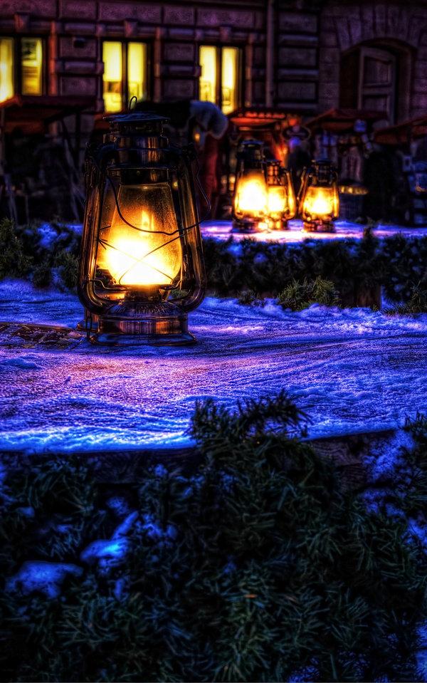 Christmas fair lanterns by demoshane