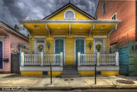 Yellow-house-after-rain
