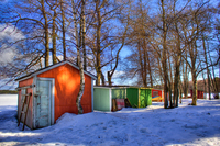 Colorful-lodges