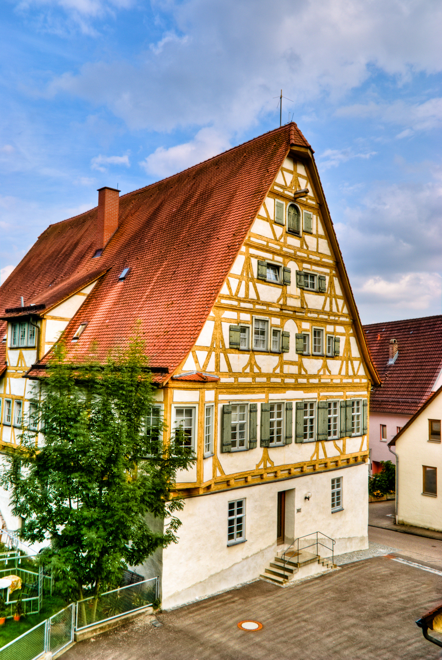 Half-timbered-house