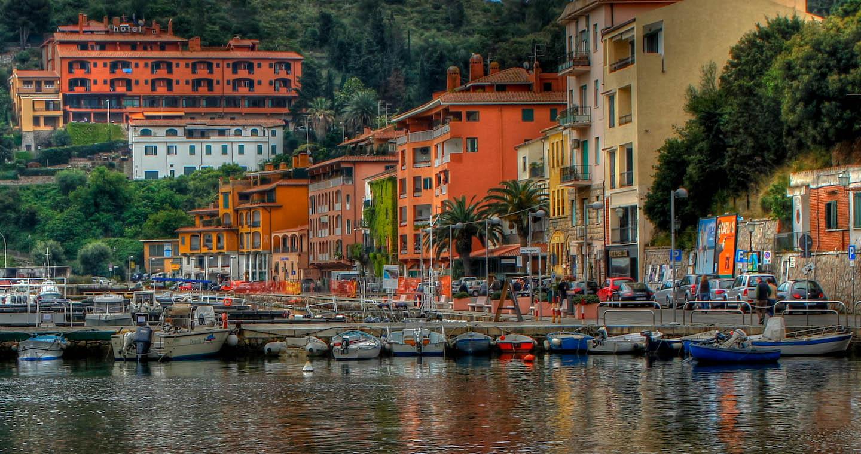 Porto Ercole Italy Porto Ercole Italy Hdr