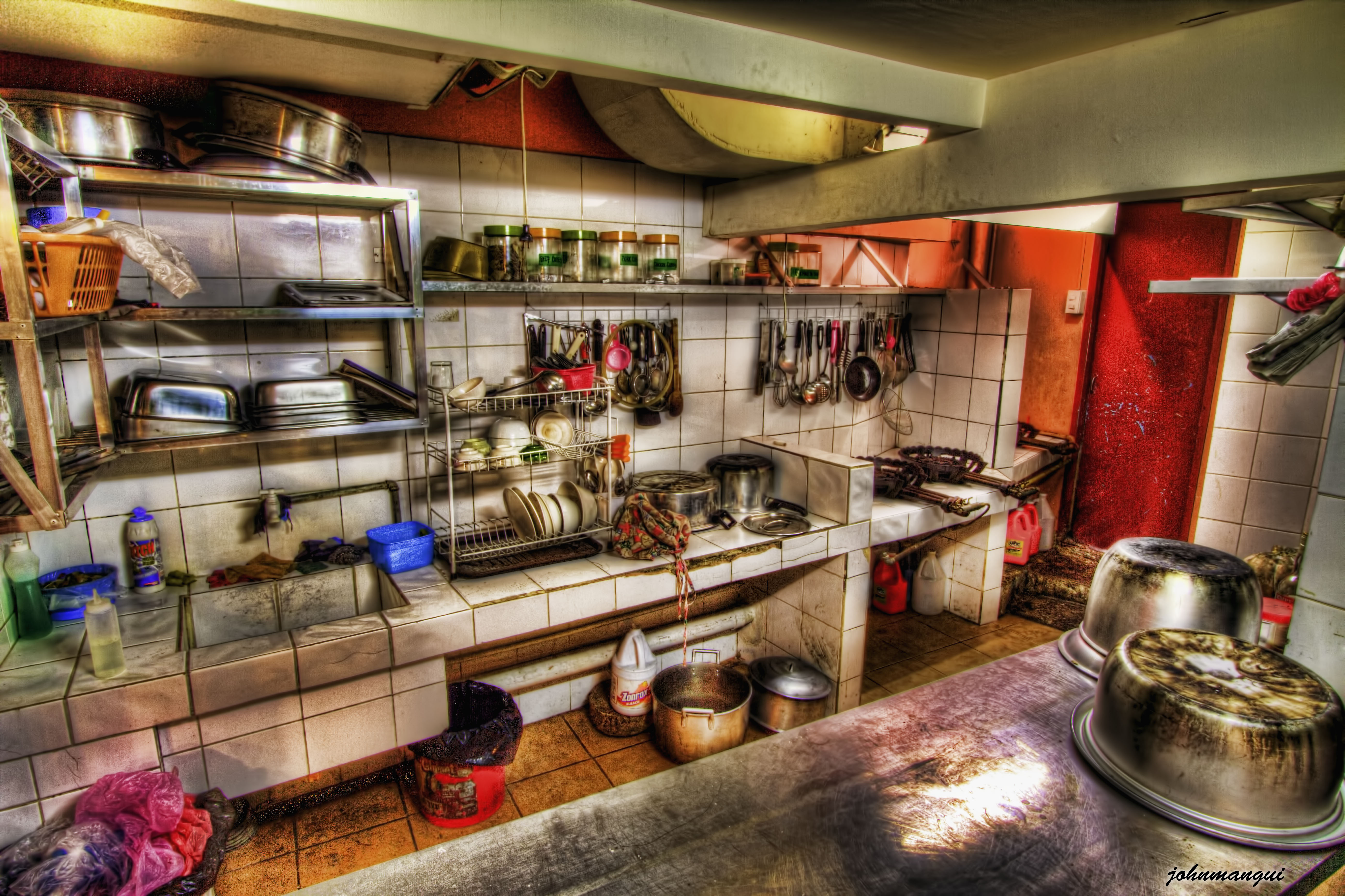 Image Gallery Dirty Kitchen
