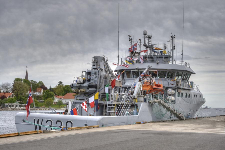 Norwegian coastguard wessel nornen