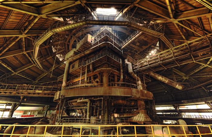 Blast funmace ironmaking