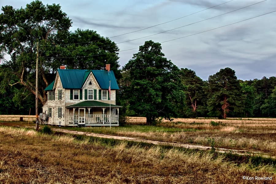 Download this Old Farmhouse Hdr Photo picture