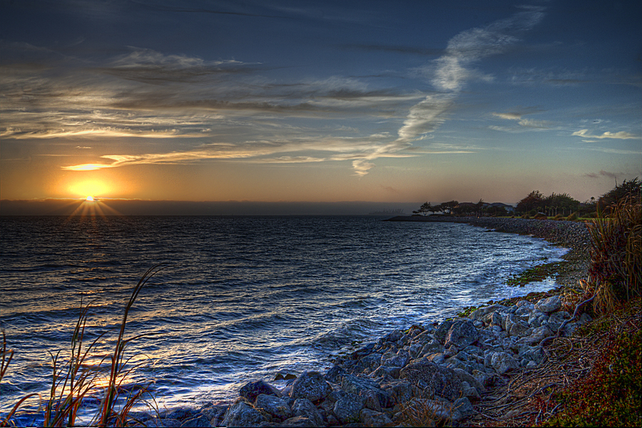 A Calming Sunset Hdr Creme