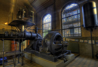 Engine-room-of-an-old-ship-lift