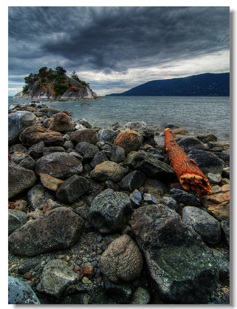 Whytecliff marine park west vancouver bc canada