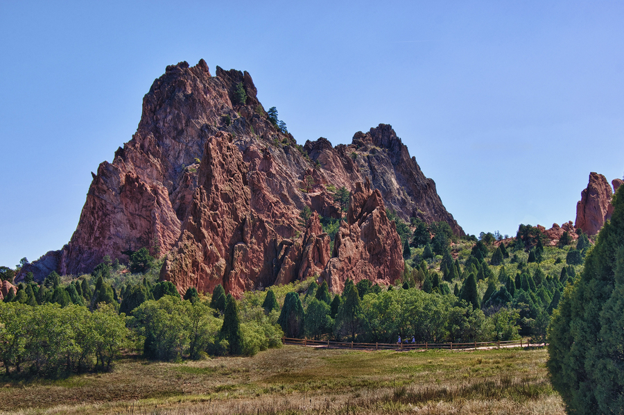 Red-rock-outcrop-