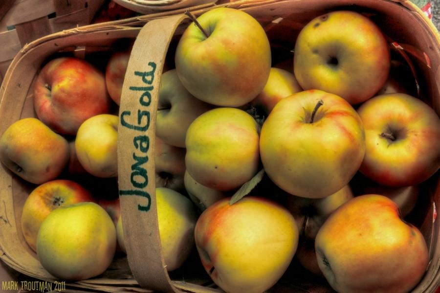 Farmer s market apples
