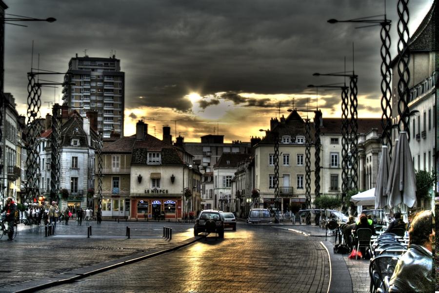 Chalon-sur-Saone France  city pictures gallery : Chalon sur Saône FRANCE BURGUNDY Mayor place | HDR creme