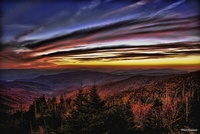 Sunset-over-the-smokies