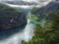 Norway-the-geiranger-fjord-hdr-