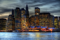 Manhattan-by-night