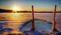 Ice-pool-at-sunrrise-in-finland