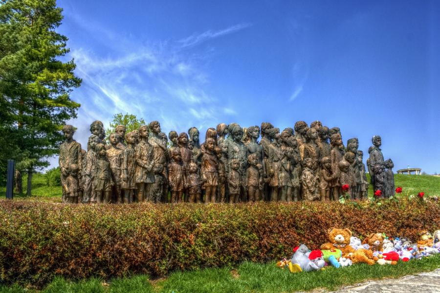 Lidice memorial