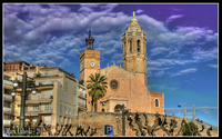 Church-of-sant-bartomeu-i-santa-tecla-sitges-spain