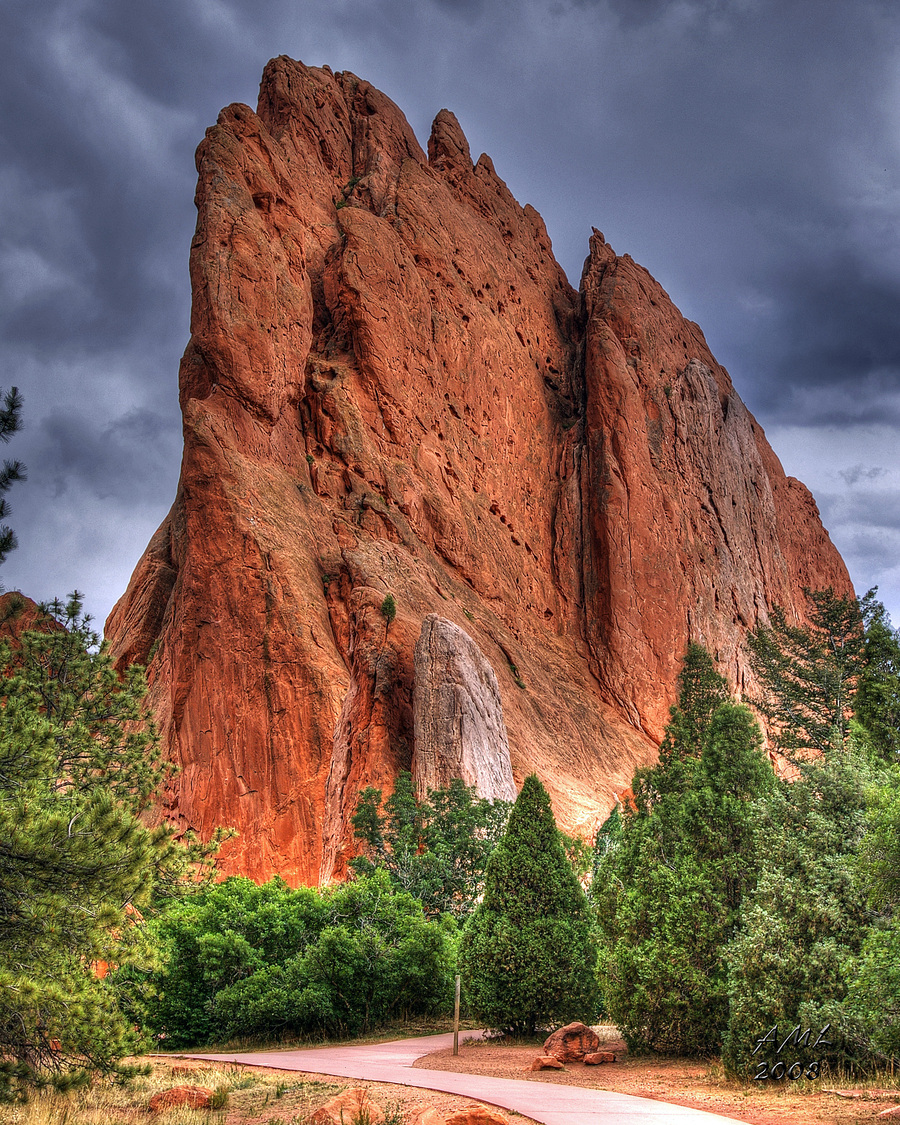 Garden Of The Gods Hdr Creme