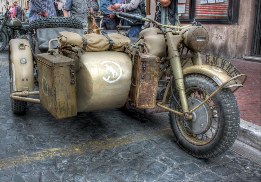 Sidecar bmw r75