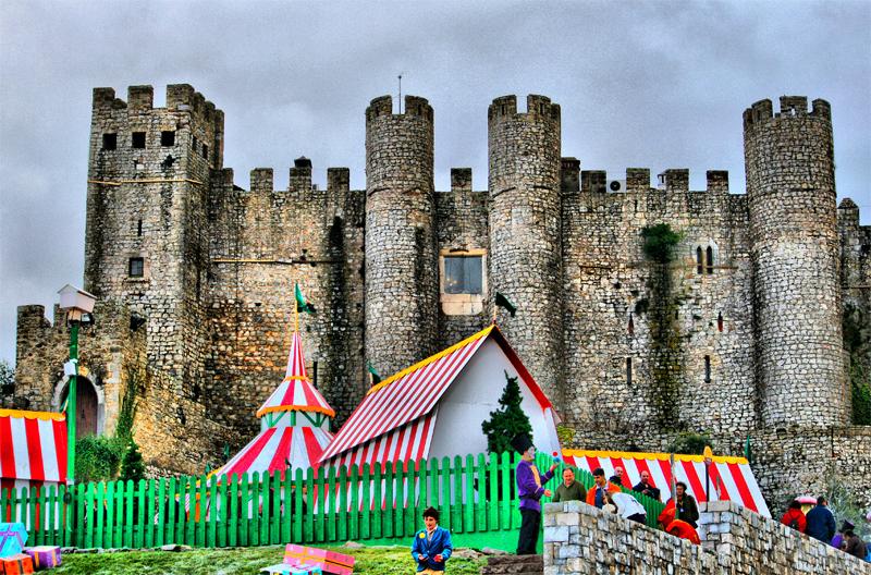 Obidos castle 2
