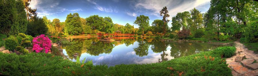 Japanese gardens wroclaw