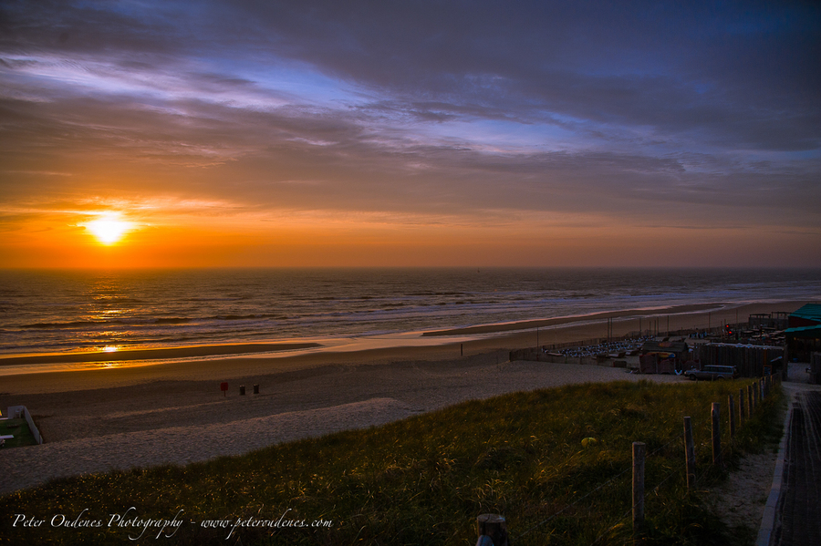 Zandvoort Netherlands  city photo : Sunset @ Zandvoort Netherlands | HDR creme
