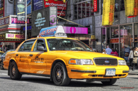 Nyc-yellow-cab-in-colour