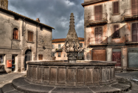 Medieval-fountain