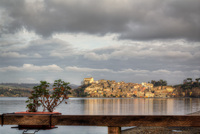 Anguillara-sabazia-on-bracciano-lake-