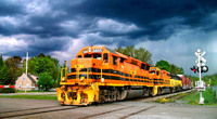 Big-orange-train