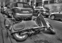 Old-scooter