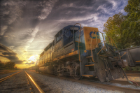 Csx-and-sunset