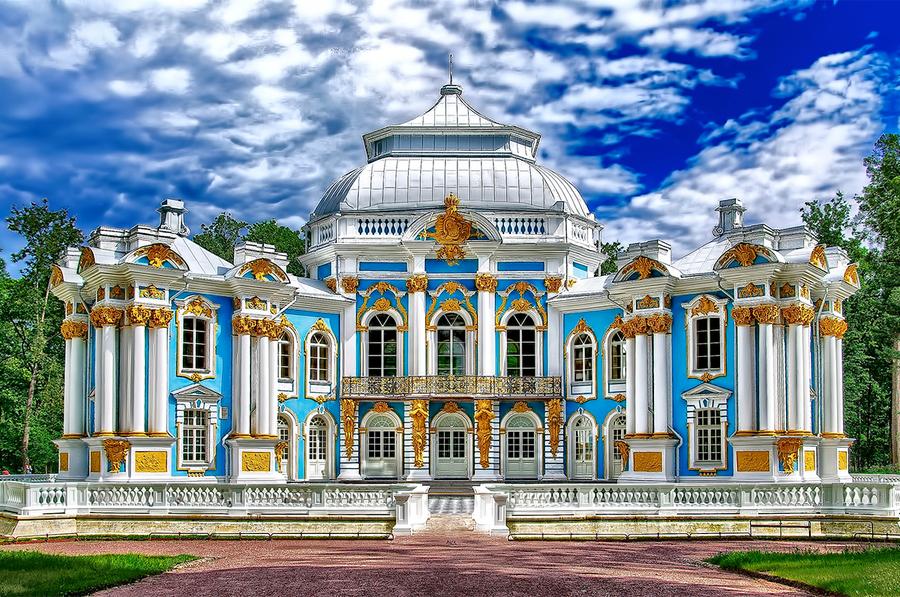Tsarskoe Selo (Pushkin) | HDR creme
