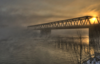 Bridge-in-the-fog