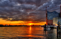 Sunset-hamburg