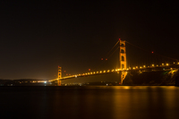 Golden-gate-at-night-