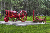 Tractor-on-display