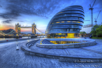City-hall-at-dawn-london-england