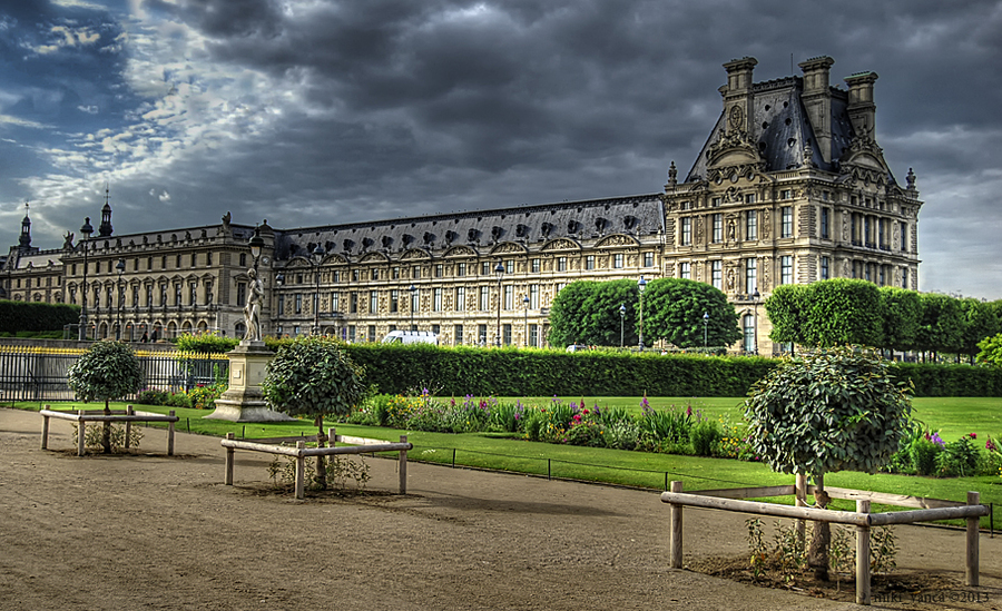jardin des tuileries hdr photo hdr creme. Black Bedroom Furniture Sets. Home Design Ideas