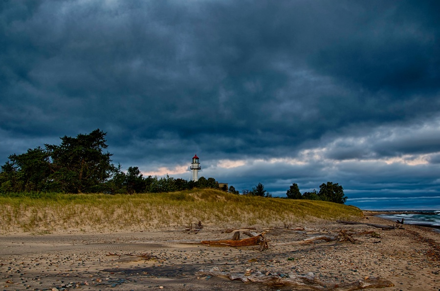 Whitefish point hdr photo hdr creme for White fish point