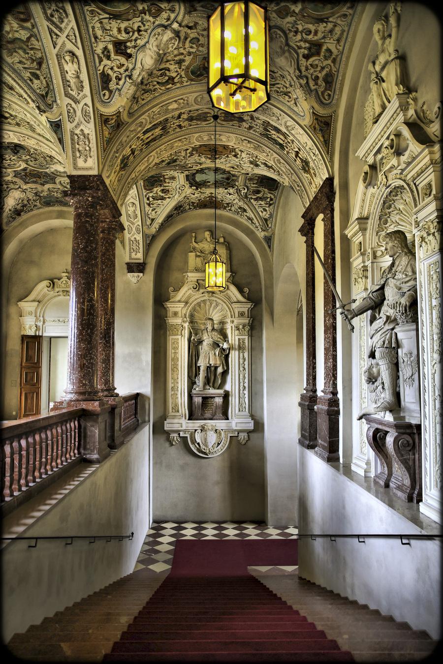 Munich residenz palace
