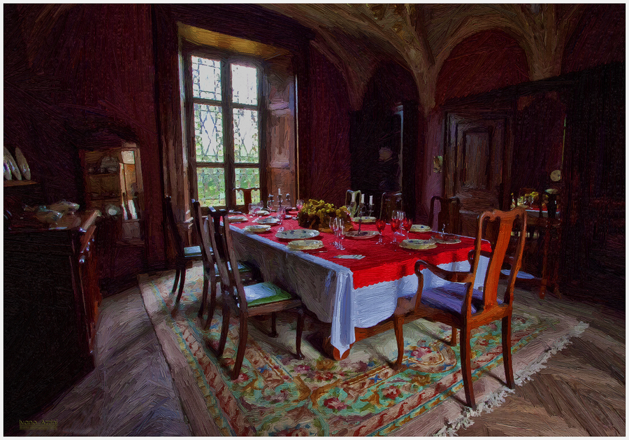 Sala pranzo nel castle copia