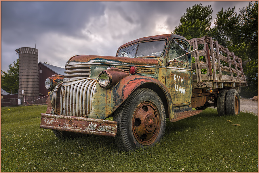 1941 chevy stake truck