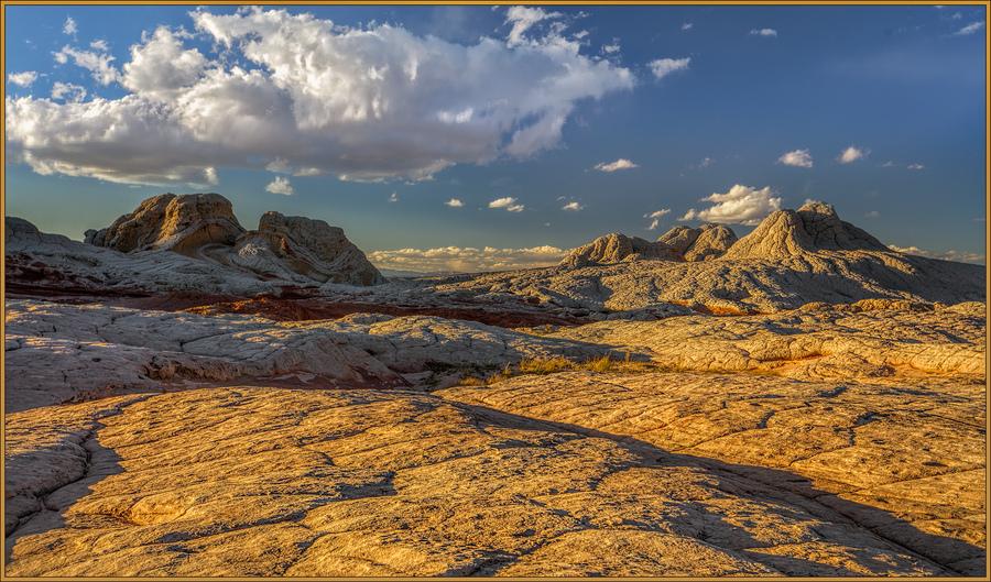 White pocket landscape