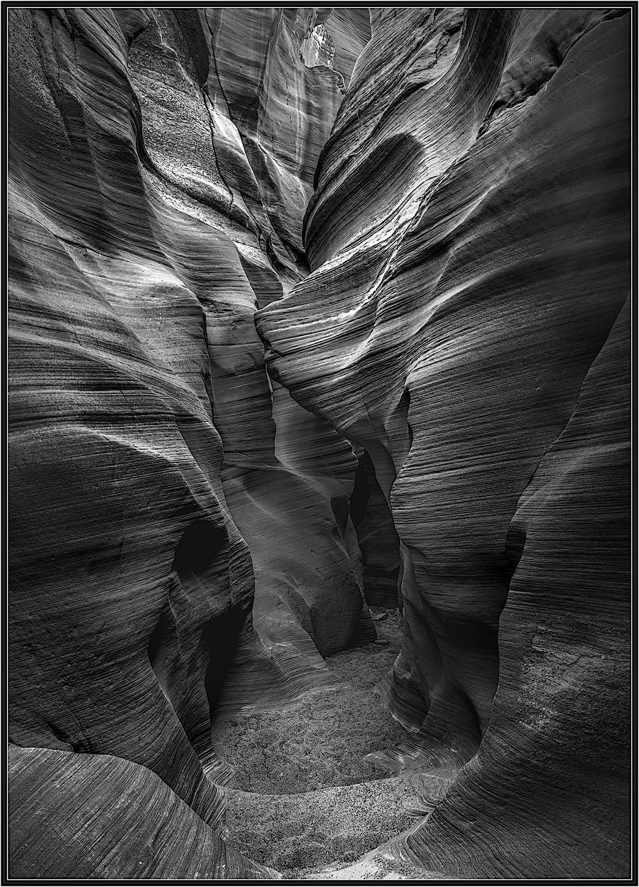 A secret slot canyon